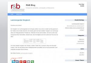 Laminierfolien und Geräte-Blog