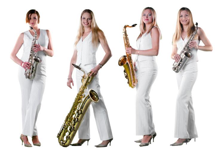 Saxophon-Quartett Hot Sax Club