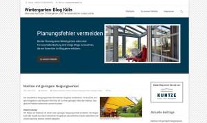 Wintergarten Blog Köln