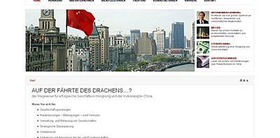 Joomla Website für Cheuram Consulting