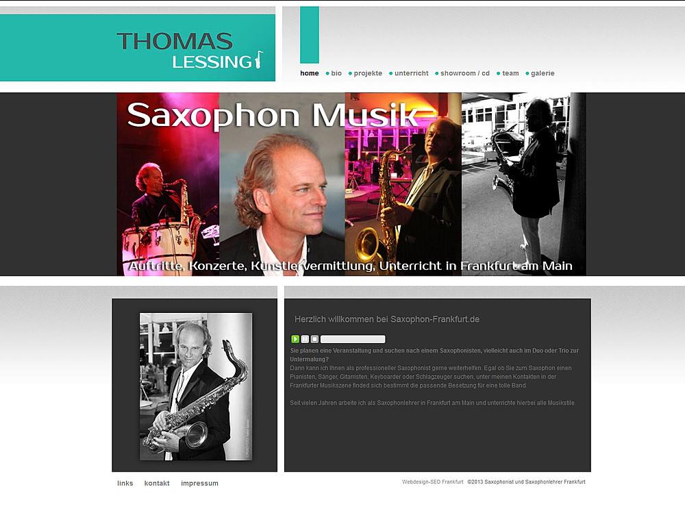 Saxophon Unterricht Frankfurt